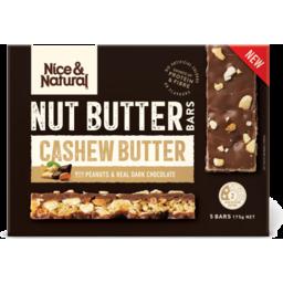 Photo of Nice Natural Nut Butter Bar Cashew Butter 175gm