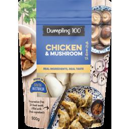 Photo of Dumpling 100 Chicken & Mushroom Dumplings 500g