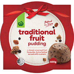 Photo of WW Traditional Fruit Pudding 600g