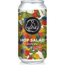 Photo of Wired 8 Hop Salad Hazy IPA 440ml