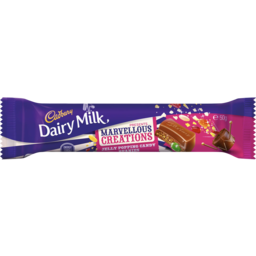 Photo of Cadbury Dairy Milk Marvellous Creations Jelly Popping Candy & Beanies Bar 50gm