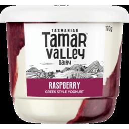Photo of Tamar Valley Greek Style Raspberry Yoghurt 170g