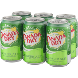 Photo of Canada Dry Ginger Ale - 6 Pk