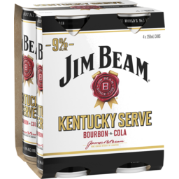 Photo of Jim Beam Kentucky Serve Cans