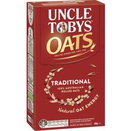 Photo of Uncle Tobys Oats Traditional 500g