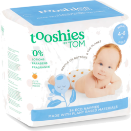 Photo of tooshies by TOM  Infant Nappies 4-8kg