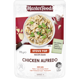 Photo of Masterfoods™ Chicken Alfredo Stove Top Recipe Base 170g