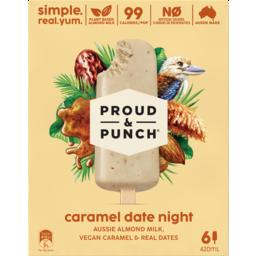 Photo of Proud & Punch Caramel Date Night Sticks 6 Pack 420ml