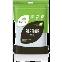 Photo of Lotus Flour - Rice (White)