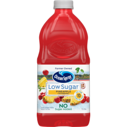 Photo of Ocean Spray Low Sugar Pineapple Cranberry Flavoured Fruit Drink 1.5l