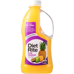 Photo of Diet Rite Fruit Cocktail Cordial 1lt