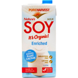 Photo of Pureharvest Soy Milk - Enriched With Calcium - Box Of 12