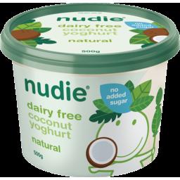 Photo of Nudie Coconut Ygt Natural 500g