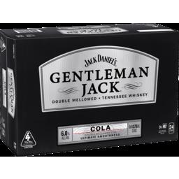 Photo of Jack Daniel Gentleman & Cola Cans