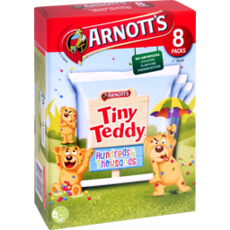 Photo of Arnott's Tiny Teddy Hundreds And Thousands 8 Pack 184g 184g