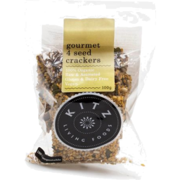 Photo of KITZ Living Foods Crackers - Raw Gourmet 4 Seed