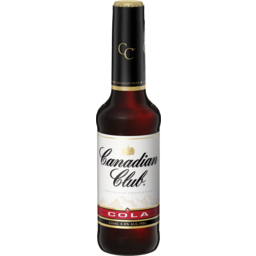 Photo of Canadian Club & Cola Bottles