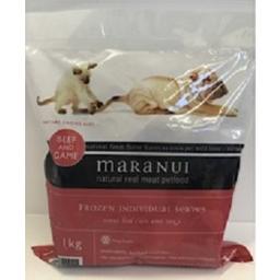 Photo of Maranui Petfood Beef & Game 1kg
