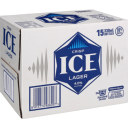 Photo of Lion Ice 15 x 330ml Bottles