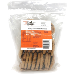 Photo of Baker Boys Biscuits Oaty Sultana 20 Pack