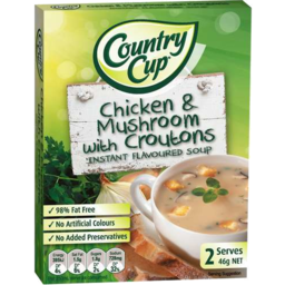 Photo of Country Cup Chicken & Mushroom With Croutons