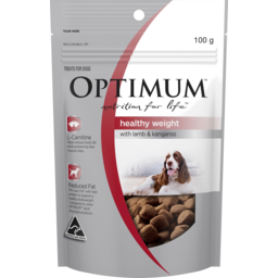 Photo of Optimum Nutrition For Life Healthy Weight With Lamb & Kangaroo Dog Treat 100g