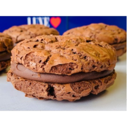 Photo of Luxe Double Chocolate Brookie Sandwich (4 Pack)