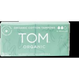 Photo of TOM ORGANIC Tampons - Regular