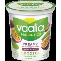 Photo of Vaalia Low Fat Passionfruit Yoghurt 160g