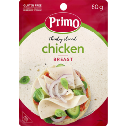 Photo of Primo Thinly Sliced Chicken Breast 80g
