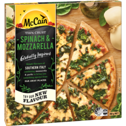Photo of McCain Ultra Thin Crust Spinach & Mozzarella 347g