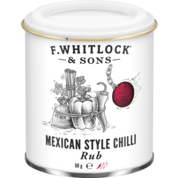 Photo of F Whitlock & Sons Mexican Style Chilli Rub 80g
