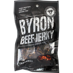 Photo of Byron Beef Jerky Chargrill 40g