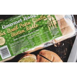 Photo of Artisan Garlic Basil Rolls 6 Pack