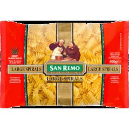 Photo of San Remo Pasta Spirals Large 500g