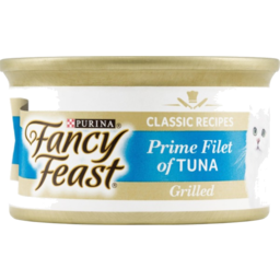 Photo of Purina Fancy Feast Classic Recipes Prime Filet Of Tuna Grilled Cat Food 85g