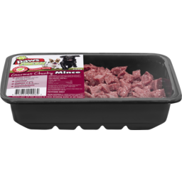 Photo of V.I.P. Petfoods Paws Fresh Gourmet Chunky Mince Chilled Dog Food 600g