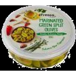 Photo of E/Fresco Green Split Olives 185g