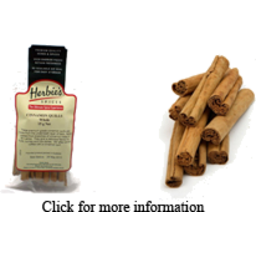 Photo of Gourmet Organic Herbs - Cinnamon Quills - 20g