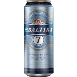 Photo of Beer Baltika 7 Can 5.4%