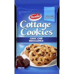 Photo of Paradise Cottage Cookies Choc Chip Indulgence 250gm