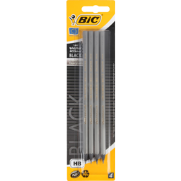Photo of Bic Ecolution Graphite Pencil Black Hb X4