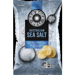 Photo of Red Rock Deli Potato Chip Sea Salt 165gm