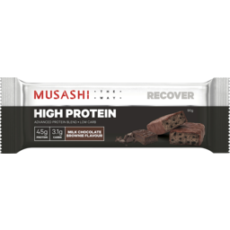 Photo of Musashi High Protein Bar Milk Chocolate Brownie 90g