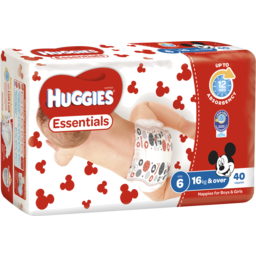 Photo of Huggies Essntl Junior Sze6 40s