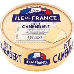 Photo of Ile De France Petit Camembert 125gm
