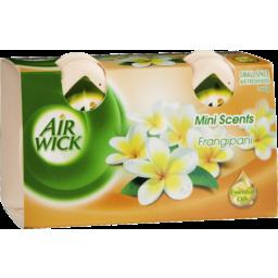 Photo of Air Wick Mini Scents Decorative Air Fresheners Frangipani Twin Pack 2x60g