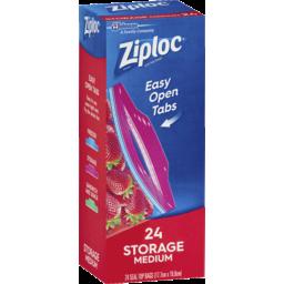 Photo of Ziploc Storage Bag Medium 24s