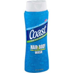 Photo of Coast Hair & Body Wash Classic Scent