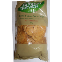 Photo of Summer Harvest Corn Chips Chilli & Lime 200g